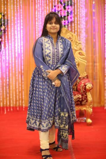 Indian handloom prints and churidar style