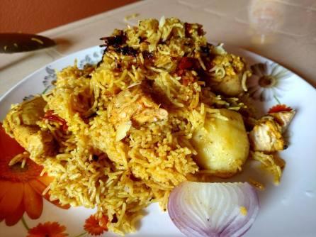 Kolkata Chicken Biryani