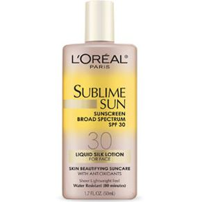Sunscreen for beach