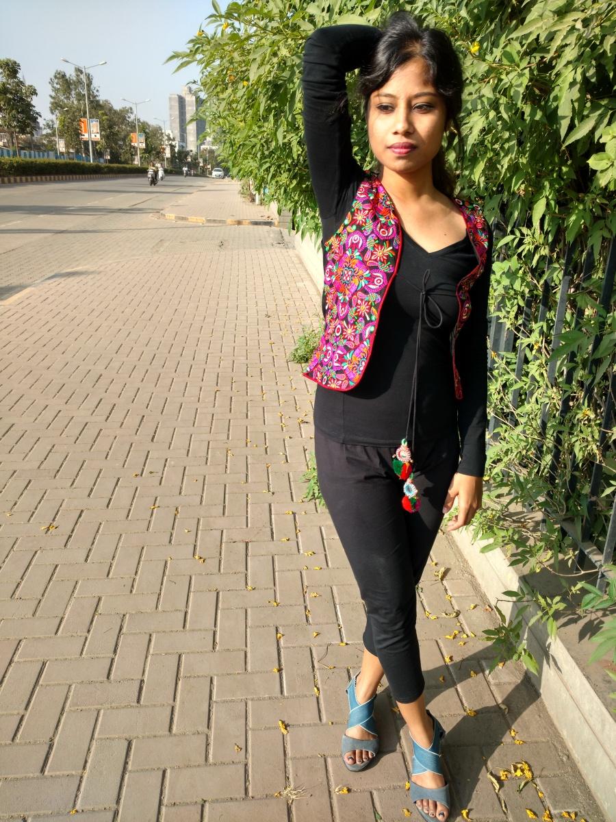 Indo western street style - dainty street