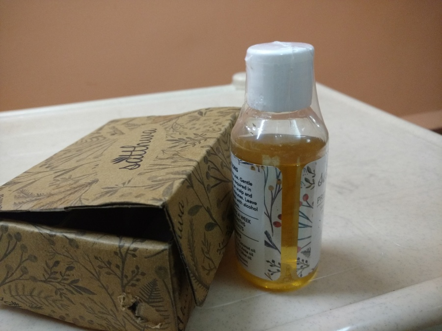 Hair Oil Review at daintystreet